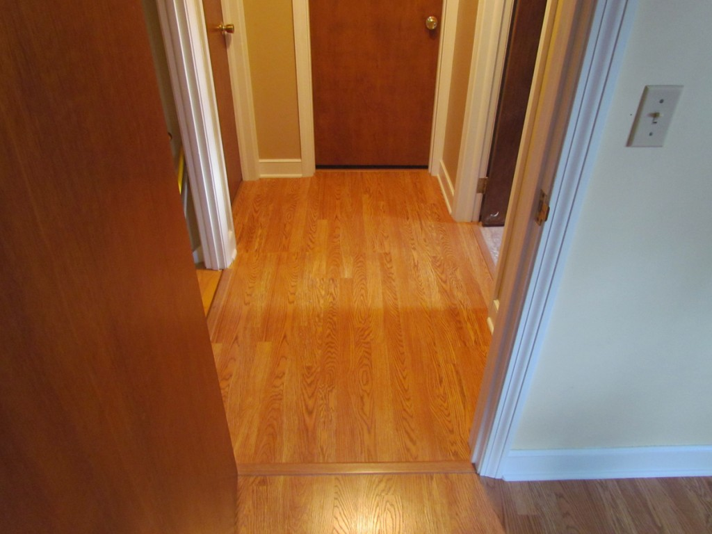 Wood Floor Install-Sturbridge, MA