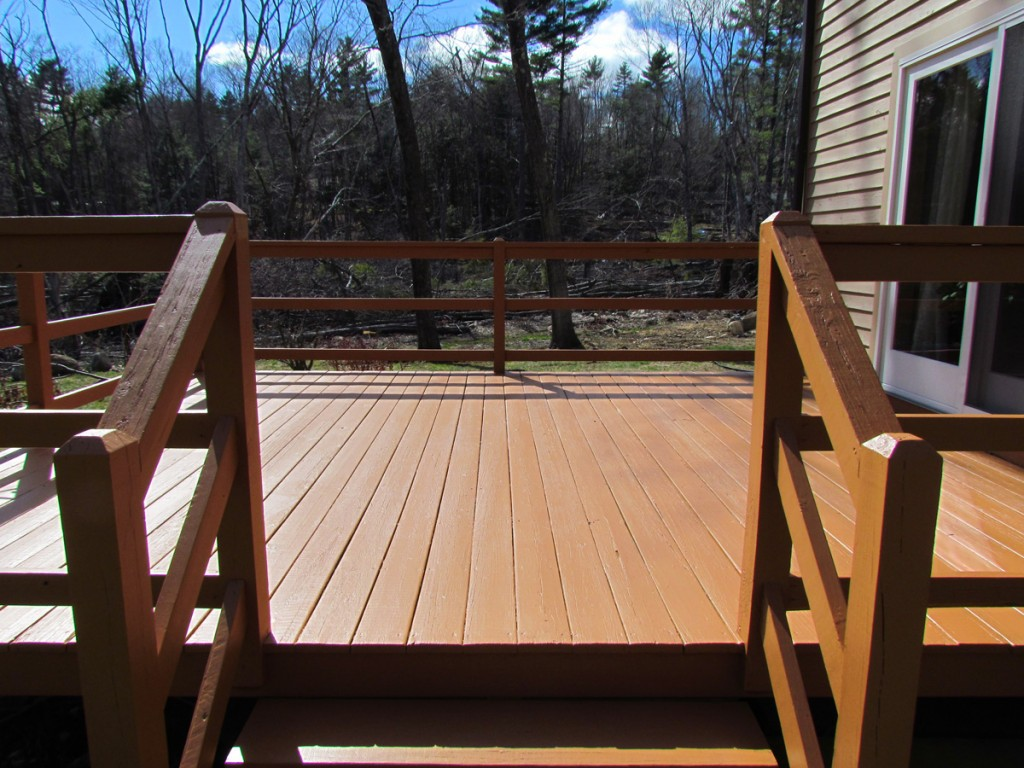 Porch Project-Sturbridge, MA