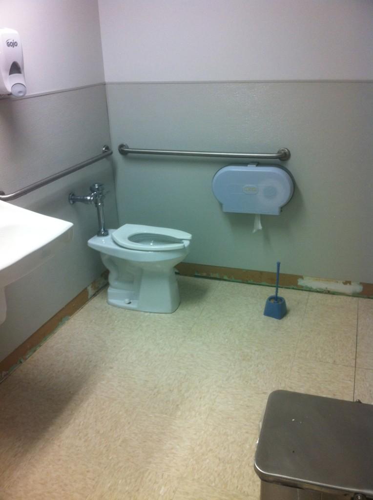 Retail Store Bathroom Remodel